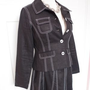 Style & Co Linen Skirt Suit